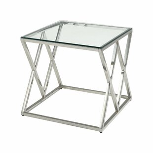 Engler End Table by Everly Quinn