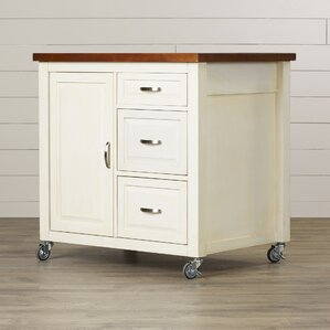 Huerfano Valley Kitchen Cart by Loon Peak
