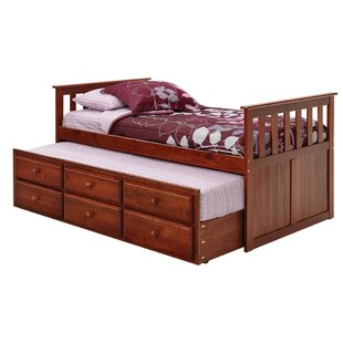 Twin Mate's & Captain's Bed with trundle by Chelsea Home