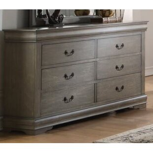 Shop Trafford 6 Drawer Double Dresser By Charlton Home