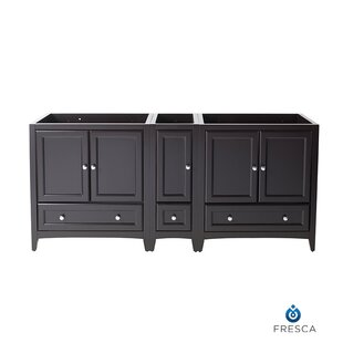 Oxford 71 Double Bathroom Vanity Base Only By Fresca