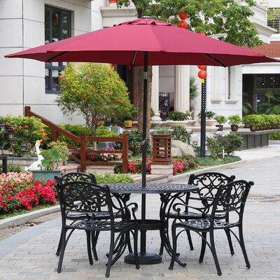Hattaway 9 Market Umbrella by Alcott Hill Fresh