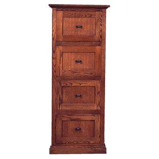 Hutton 4-Drawer Vertical Filing Cabinet by Loon Peak
