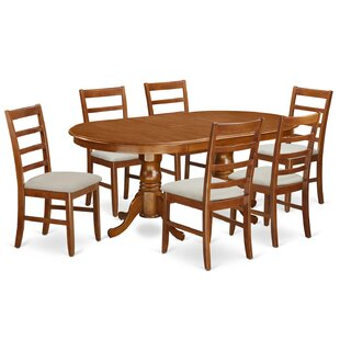 Pilcher 7 Piece Dining Set August Grove