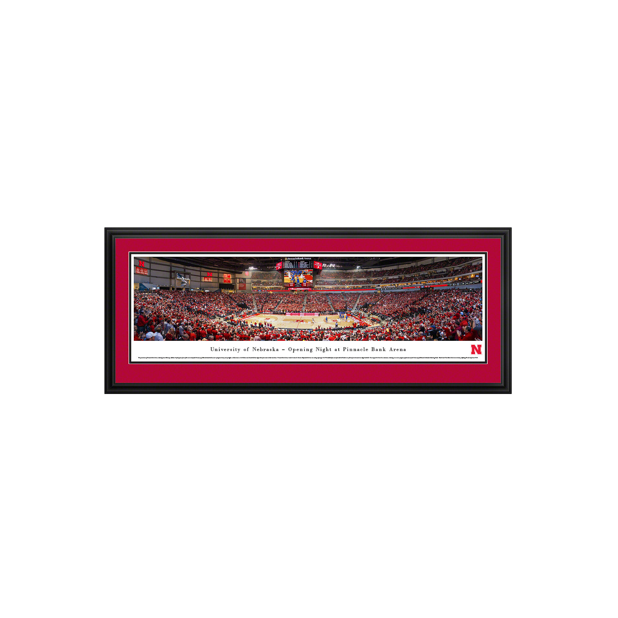 Vault W Artwork Ncaa Nebraska University Of Basketball By James Blakeway Framed Photographic Print Wayfair