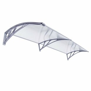 Zeny 6.7ft. W x 3.4ft. D Window Awning