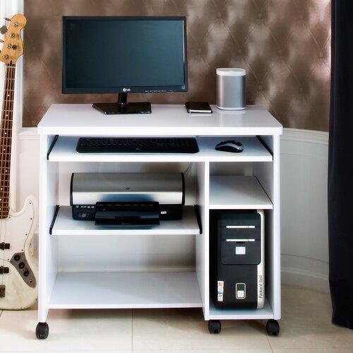 Computertisch Cuuba Libre   Büro > Bürotische > Computertische   Weiß mit hochglanz-ausführung   Jahnke