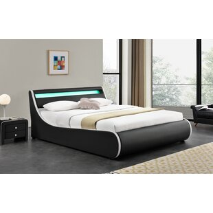 Truitts Faux Leather Upholstered Storage Platform Bed