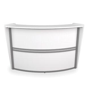 Small Curved Reception Desk Wayfair