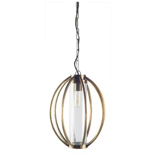 Brayden Studio Palomares 1-Light Geometric Pendant