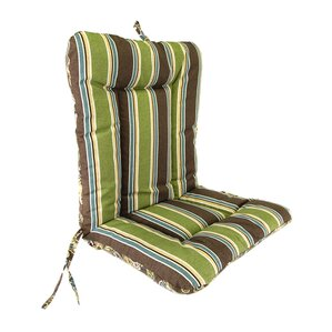 Beautiful Wrought Iron Outdoor Dining Chair Cushion