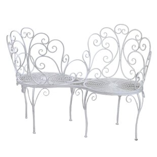 Borica Iron Love Seat By August Grove
