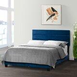 Rocton Queen Upholstered Standard Bed by Wrought Studio™