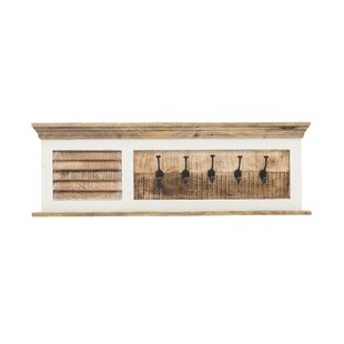 Waterton Wall Mounted Coat Rack By Beachcrest Home