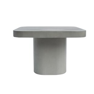 Thibodaux Concrete End Table by Williston Forge