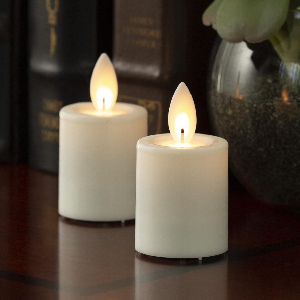 Ebern Designs Iflicker Unscented Flameless Candle Reviews Wayfair