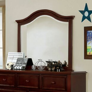 Saltsman 7 Drawer Double dresser with Mirror by Harriet Bee