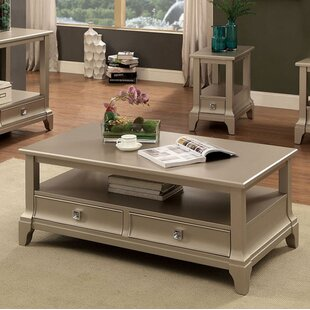 Sheehan Coffee Table with Storage Everly Quinn