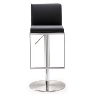 Blagg Adjustable Height Swivel Bar Stool