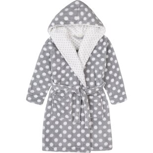 Stiffler Plush Fleece Bathrobe