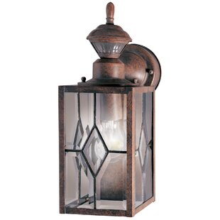 Red Barrel Studio Schaefer 1-Light Outdoor Wall Lantern