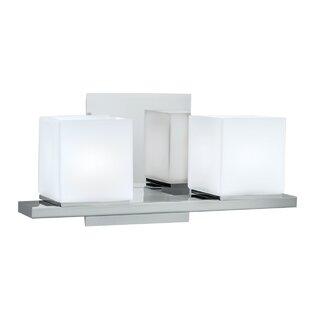 Orren Ellis Baron 2-Light Vanity Light