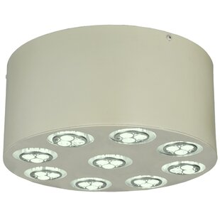 Meyda Tiffany Discovery LED 9-Light Flush Mount