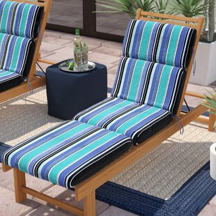 Beau Dolce Oasis Indoor/Outdoor Sunbrella Chaise Lounge Cushion