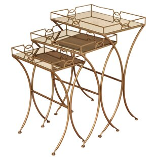 Mercer41 Orchimont 3 Piece Nesting Tables
