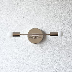Bathroom Light Fixtures Mid Century Modern mid-century modern bathroom vanity lighting you'll love | wayfair