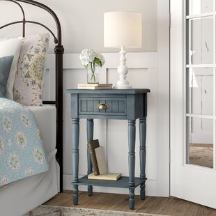Rosas 1 Drawer Nightstand by August Grove