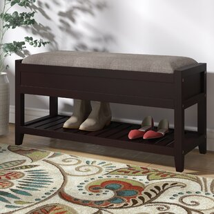 Lambrecht Seating Upholstered Storage Bench by Charlton Home