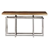 Fitz 55 Solid Wood Console Table by Bloomsbury Market