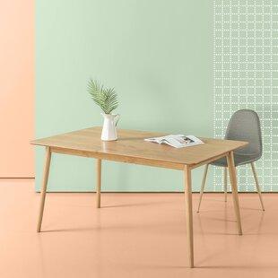Goodyear Mid Century Modern Wood Dining Table