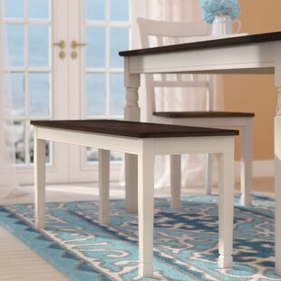 Beachcrest Home Magellan Wood Bench