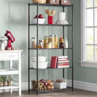 Wayfair Basics 72 H x 36 W 5 Shelf Wire Shelving Unit