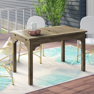 Aranmore Solid Wood Dining Table by Beach..