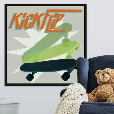 Shackelford Sk8r Iii Art Canvas On Demand Format Black Floating Frame Size 20 H X 20 W X 175 D