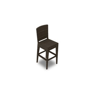 Hodge Patio Bar Stool by Rosecliff Heights