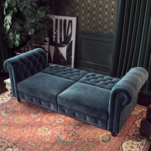 Aranza Chesterfield Convertible Sofa