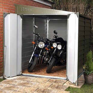Rowlinson 6 ft. 3 in. W x 9 ft. 1 in. D Metal Lean-To Garage Shed
