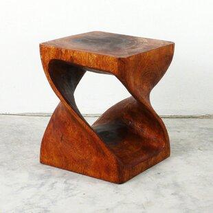 Lawncrest Twist End Table