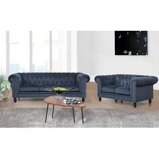 Rosdorf Park Jovani 2 Piece Living Room Set
