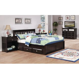 Baskin Full Platform Bed with 3 Drawers