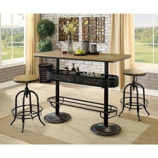 Nerstrand 3 Piece Pub Table Set Williston Forge