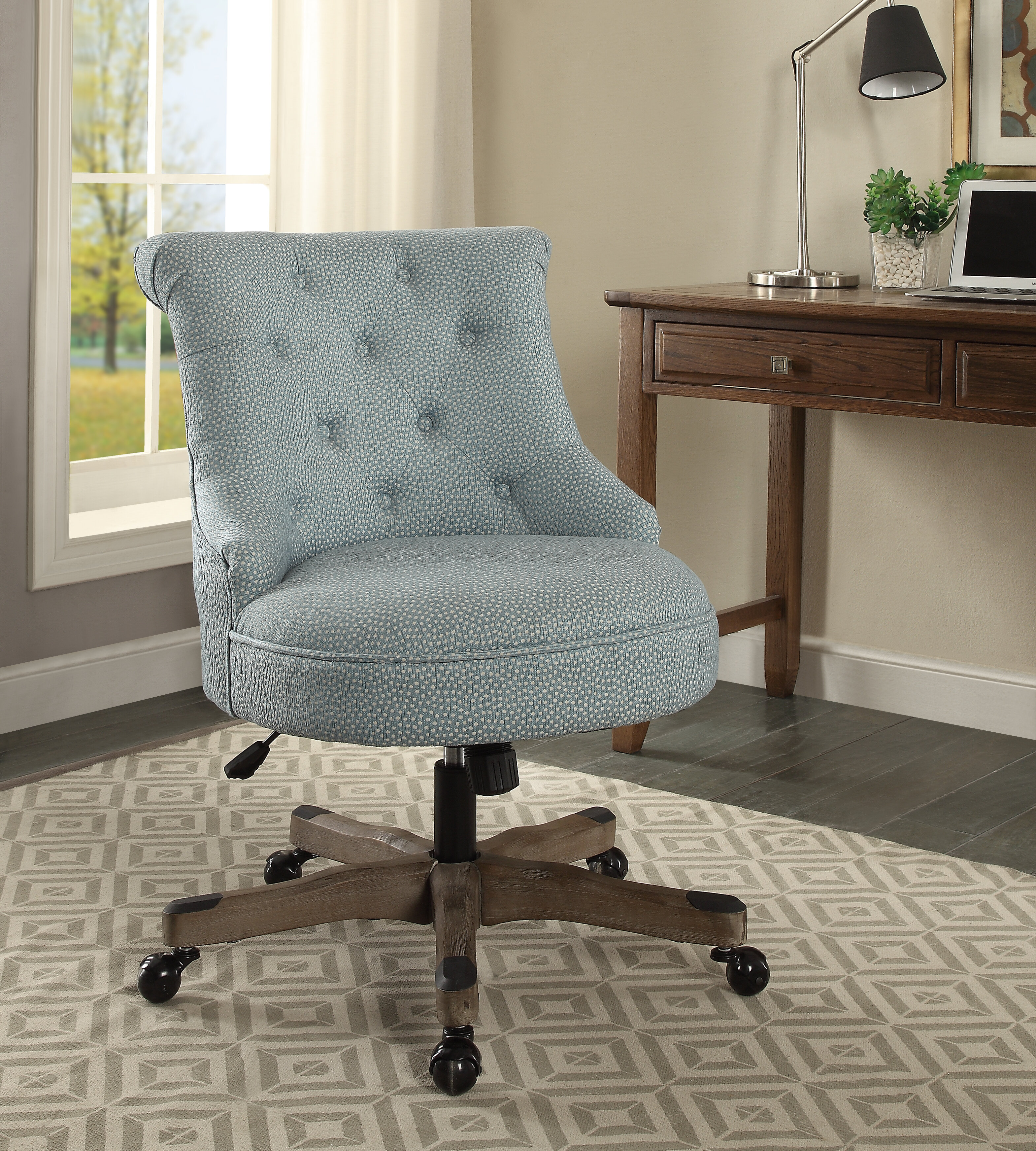 Picture of: Blue White Office Chairs You Ll Love In 2020 Wayfair