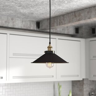 Shop For Honorine 1-Light Cone Pendant By Trent Austin Design