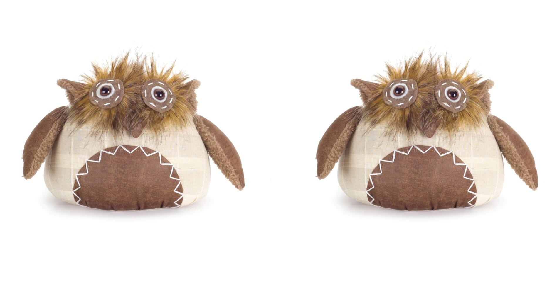 Melrose Intl Owl Fabric Weighted Floor Stop Wayfair