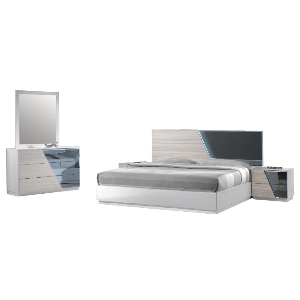 Charmant Orren Ellis Nikhat Platform 5 Piece Bedroom Set U0026 Reviews   Wayfair