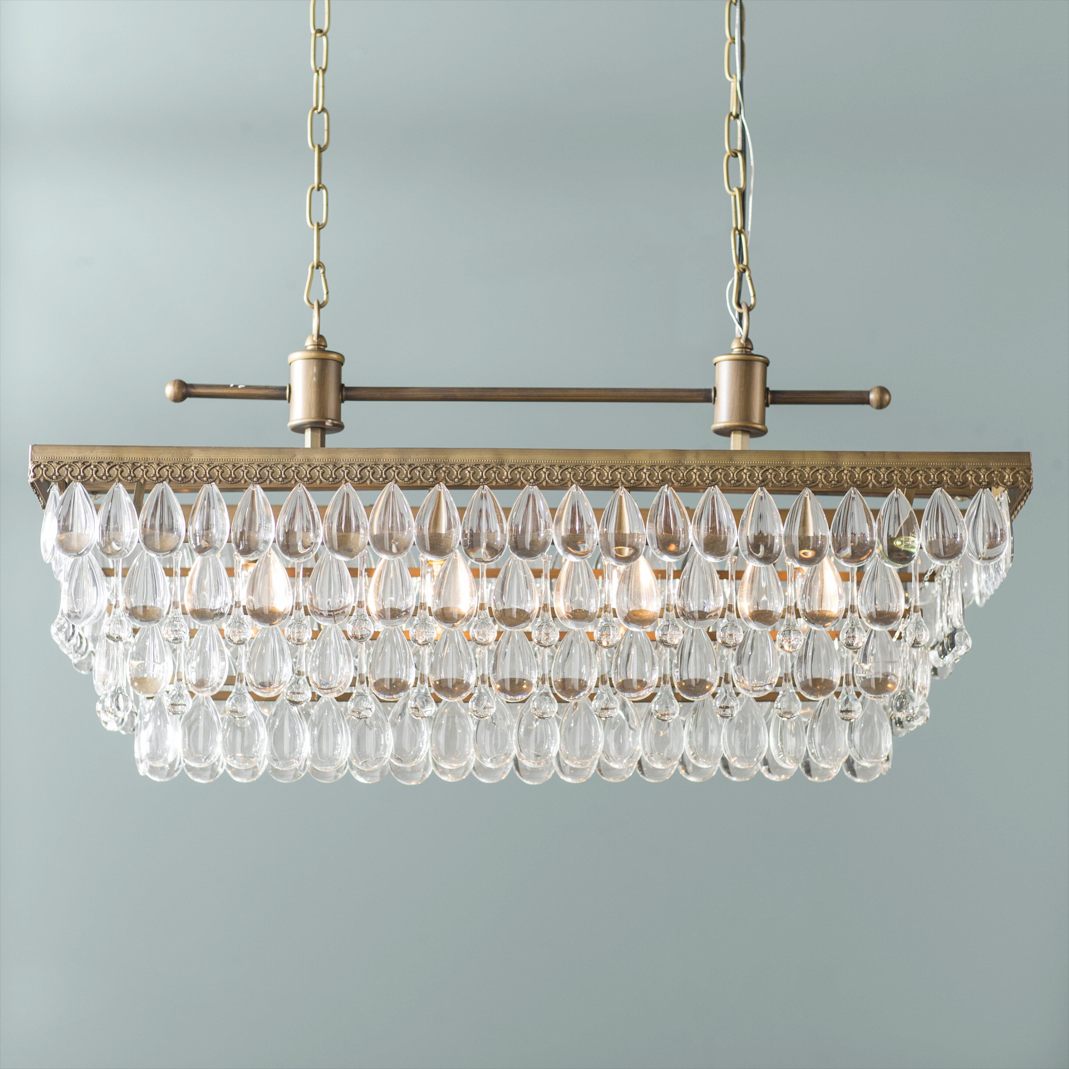Trent Austin Design Barta 4-Light Kitchen Island Chandelier   Wayfair